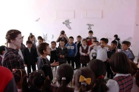 Rory McCann hand painted mural wildlife art school painting (105)