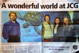 Rory McCann hand painted mural wildlife art school painting (106)
