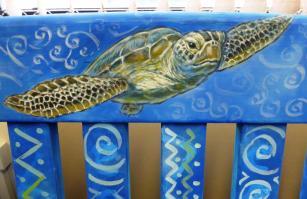 Rory McCann hand painted mural wildlife art school painting (110)