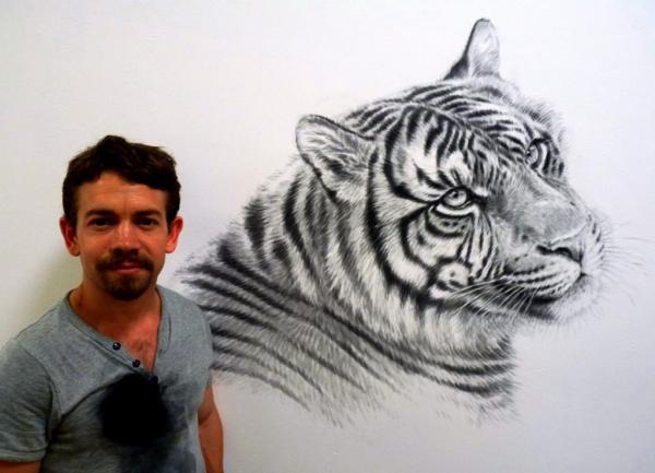 Rory McCann hand painted mural wildlife art school painting (114)