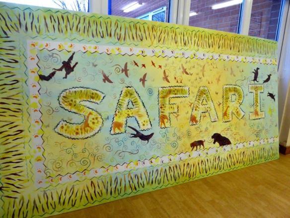 Rory McCann hand painted mural wildlife art school painting (116)