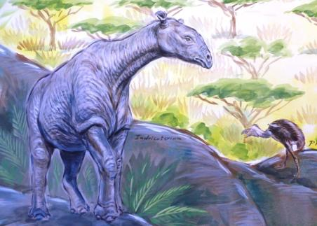 Rory McCann hand painted mural wildlife art school painting (58)
