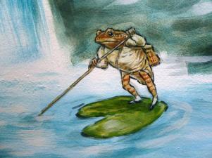 Rory McCann hand painted mural wildlife art school painting (80)